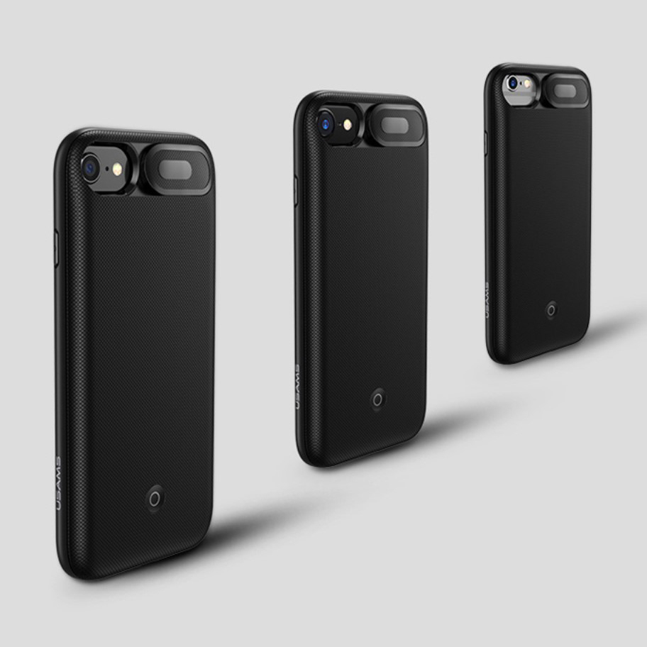 the latest 5ef7b 148fb Usams 3000mAh MFi Battery Charger Case - Apple iPhone 8 / 7 / 6s